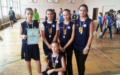 Първо място по баскетбол за момичетата на Свети Влас на ученическите спортни игри