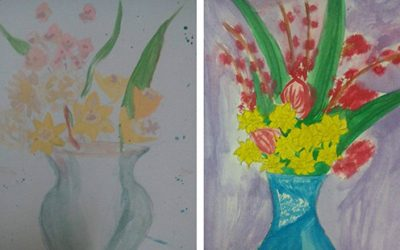 Пролетна изложба в нашето училище