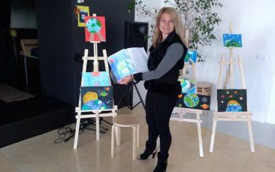"""""""Морето""""- изложба по проект """"Твоят час"""""""